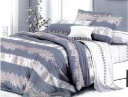 Двуспальное постельное белье из поплина «1745»