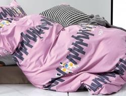 Двуспальное постельное белье из твил-сатина «20-14»