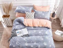 Полуторное постельное белье из твил-сатина 20-186»