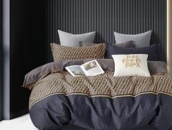 Двуспальное постельное белье из твил-сатина «22-44»