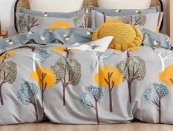 Полуторное постельное белье из твил-сатина «27-33»