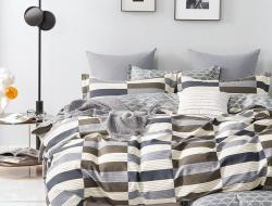 Полуторное постельное белье из твил-сатина «27-38»