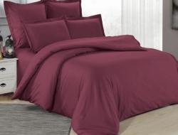 Полуторное постельное белье из сатина «5316»