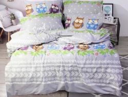 Полуторное постельное белье из бязи «6002»