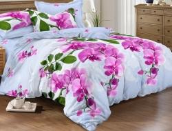 Полуторное постельное белье из поплина «919»