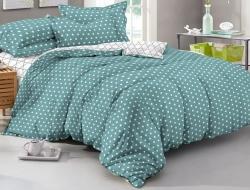Полуторное постельное белье из поплина «953»