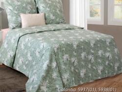 Двуспальное постельное белье из бязи «Calantia»