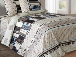 Двуспальное постельное белье из бязи «Амстердам 3962»