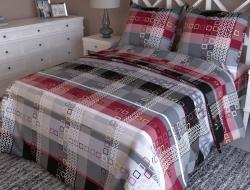 Полуторное постельное белье из бязи «Бостон»