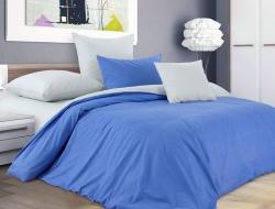 Двуспальное постельное белье из бязи «Цветущая фиалка»
