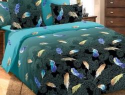 Двуспальное постельное белье из бязи «Дуновение»