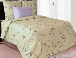 Полуторное постельное белье из бязи «Фуксия 5530(03)»