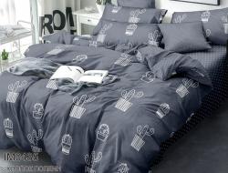 Полуторное постельное белье из поплина «IM0435»