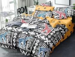Полуторное постельное белье из поплина «IM0713»