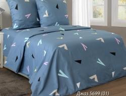 Полуторное постельное белье из бязи «Джаз 01»