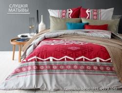 Полуторное постельное белье из бязи «Легенда»