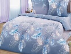 Полуторное постельное белье из бязи «Ловец снов»