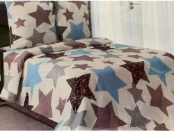 Полуторное постельное белье из бязи «Мираж-03»