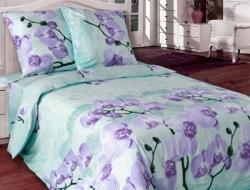 Двуспальное постельное белье из бязи «Орхидея 4560(02)»
