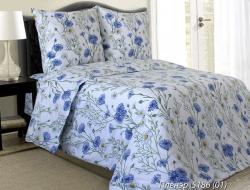 Полуторное постельное белье из бязи «Пленэр»