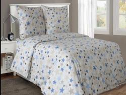 Полуторное постельное белье из бязи «Вега»