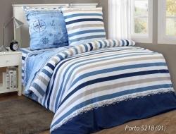 Двуспальное постельное белье из бязи «Порто»