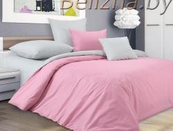 Полуторное постельное белье из бязи «Пудровая сказка»