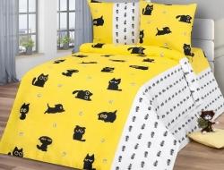 Полуторное постельное белье из бязи «Томас»