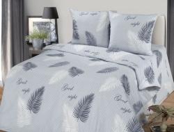 Полуторное постельное белье из бязи «Тропики»