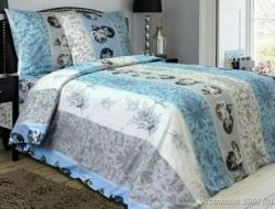 Полуторное постельное белье из бязи «Эксклюзив»
