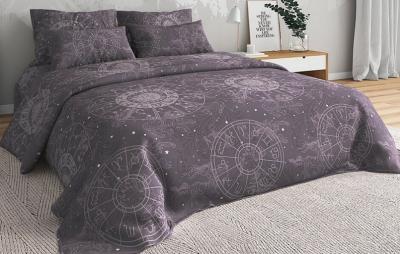 Полуторное постельное белье из бязи «Зодиак»